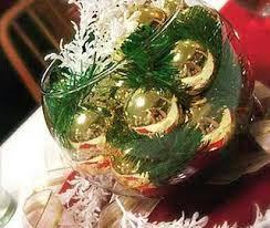 Decoração simples e barata para mesa de Natal