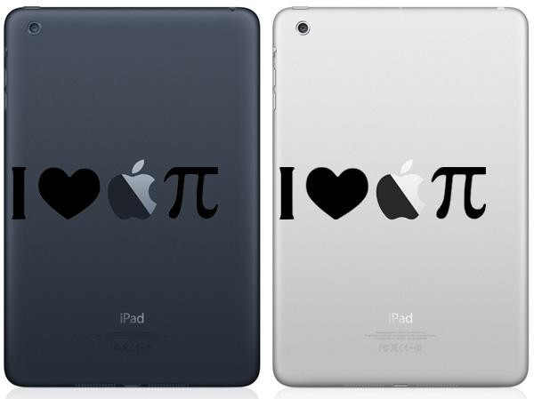 I Love Apple Pie iPad Mini Decals