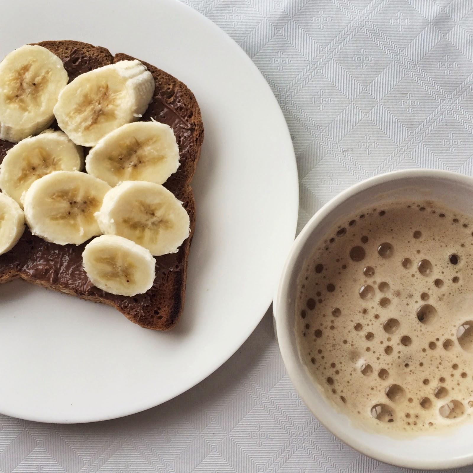 nutella and banana