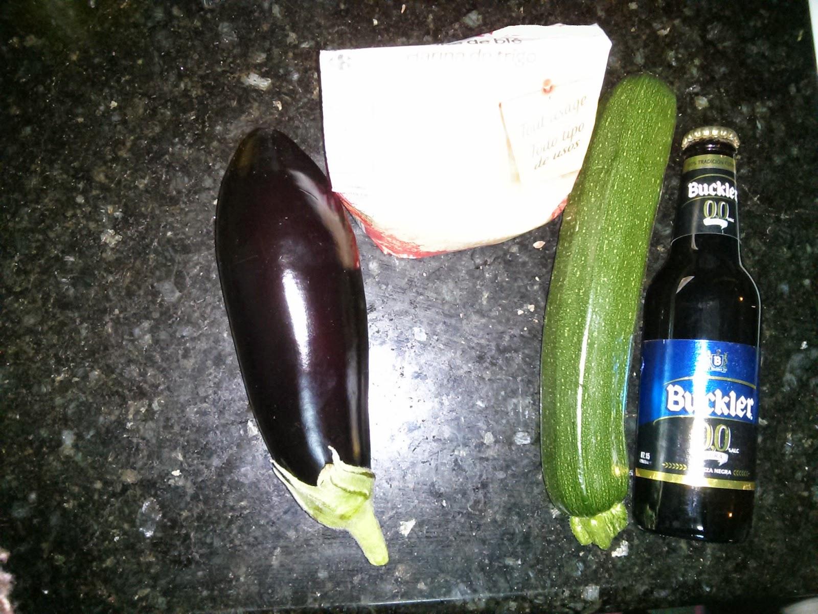 Berenjena rebozada con cerveza