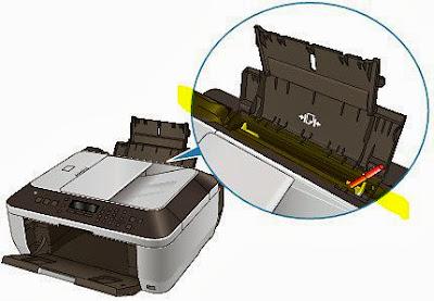 Попадание инородных объектов в механизм принтера