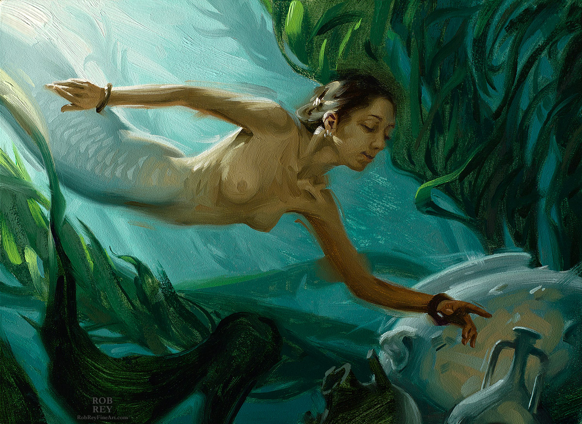 In the Kelp by Rob Rey - robreyfineart.com