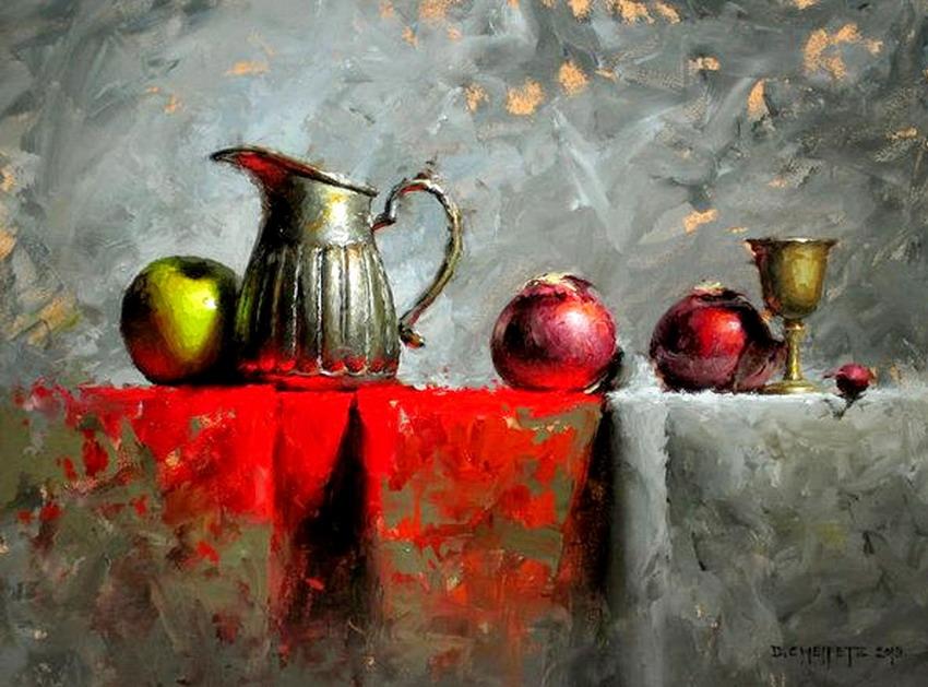 Cuadros modernos pinturas y dibujos cuadros de pinturas - Cuadros bodegones modernos ...