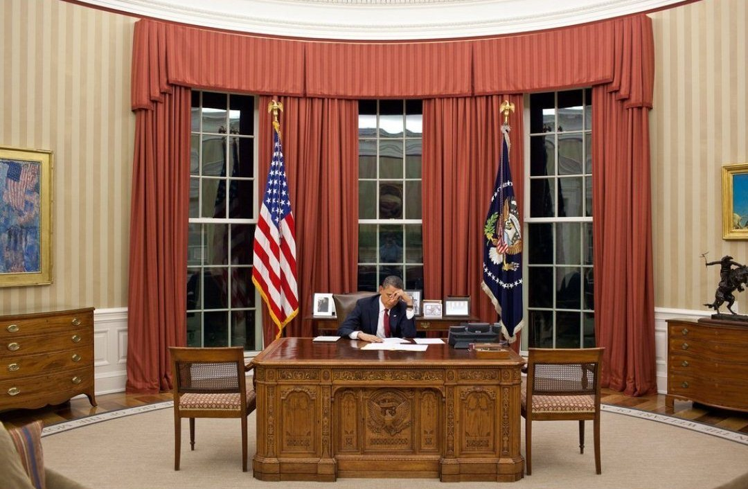Inside White House Oval Office