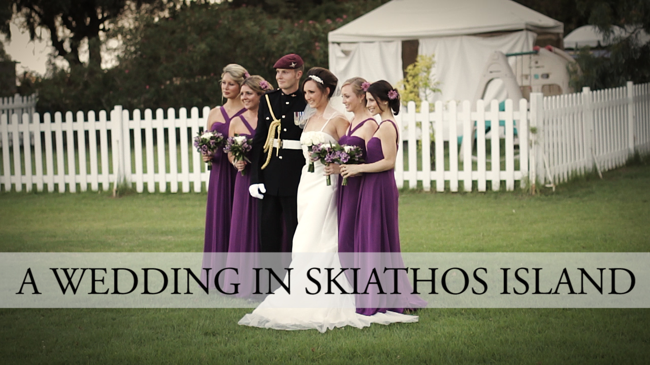 Wedding in Skiathos Island