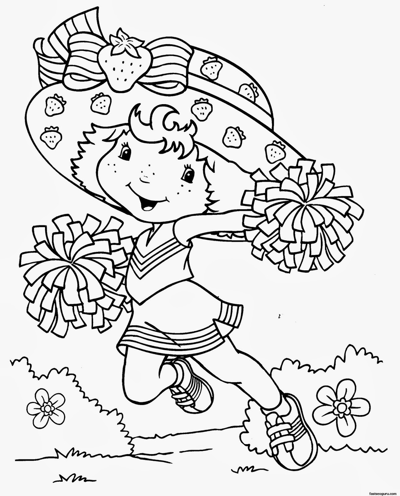 Coloring pages for girl printable - Coloring Pages Printable Free For Girls Printable Cartoon Coloring Pages