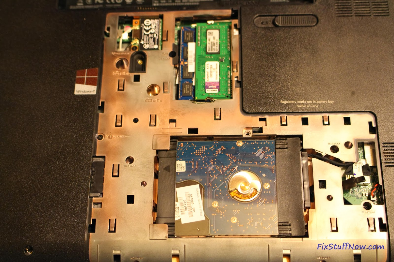Replacing the Keyboard on an HP Pavilion G7 Laptop: Step 3