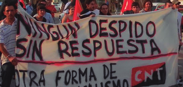 Mazarrón-Aqualia-Facsa-depuradora-despidos-CNT-AIT-manifestacion