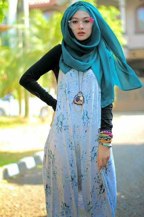 Hijab modern terbaru yang casual