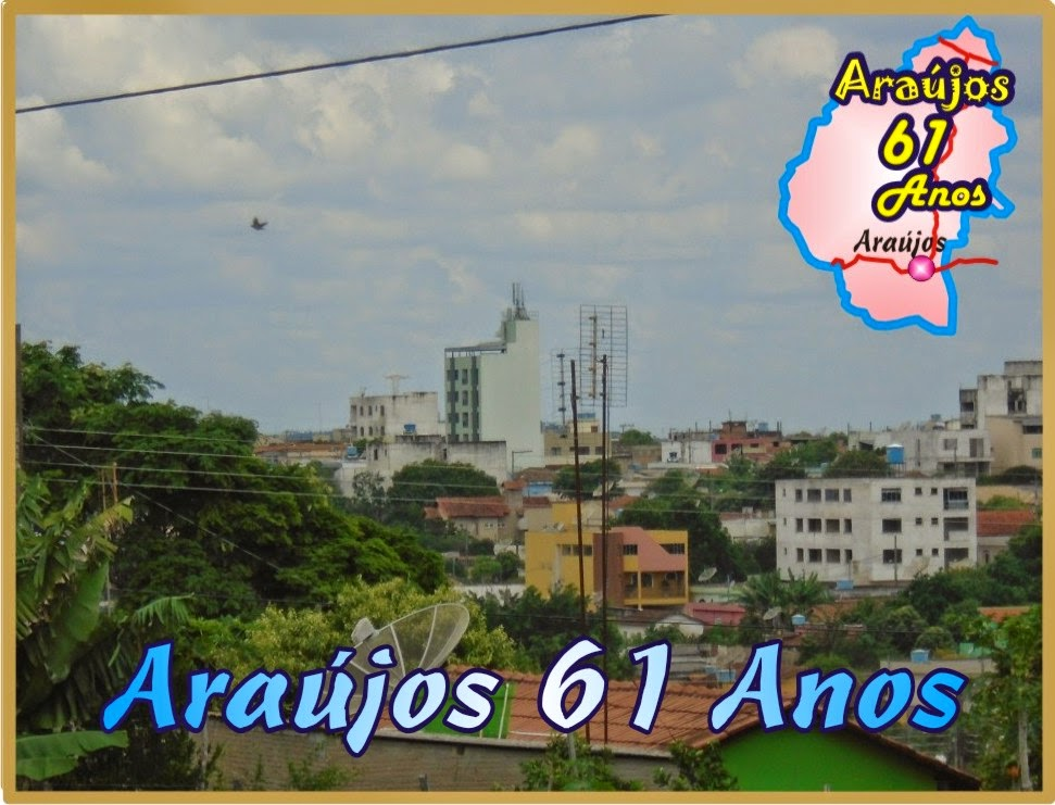 Araújos 61 Anos - 1954 á 2015