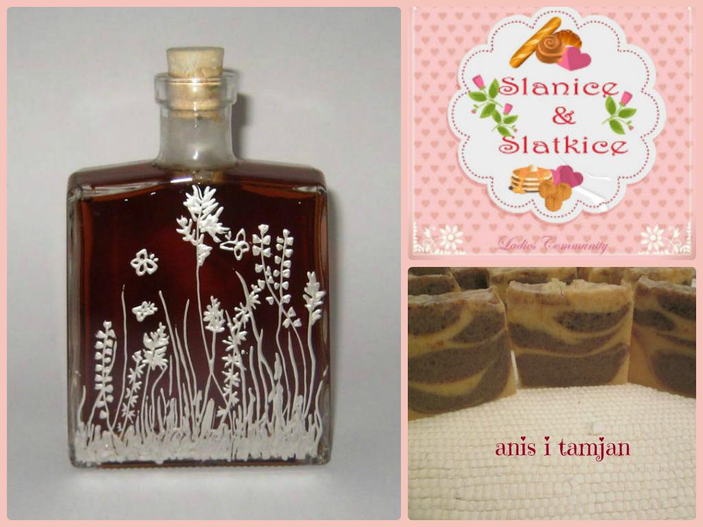 Počasna nagrada: Oslikana flaša sa rakijom i SOAP MAKING ADVENTURE sapuni
