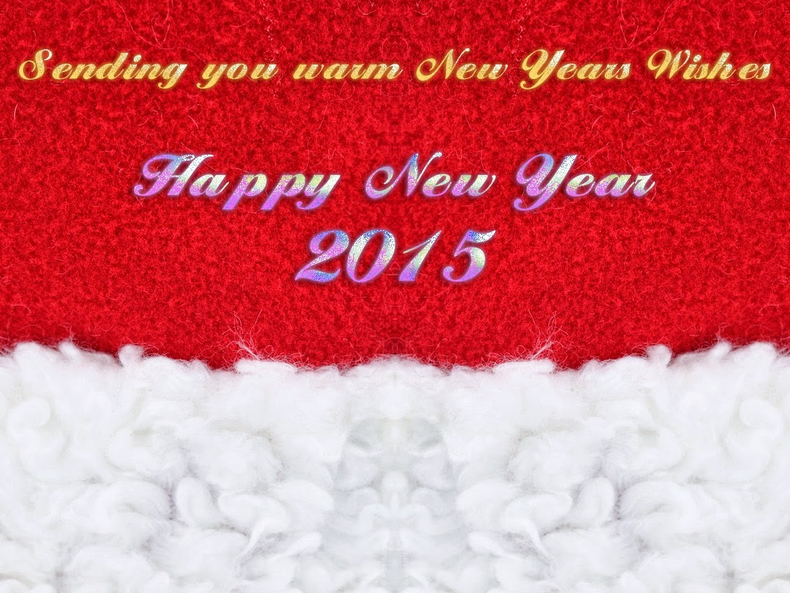 Snow Happy New Years 2015 Wishes Greetings Cards Images