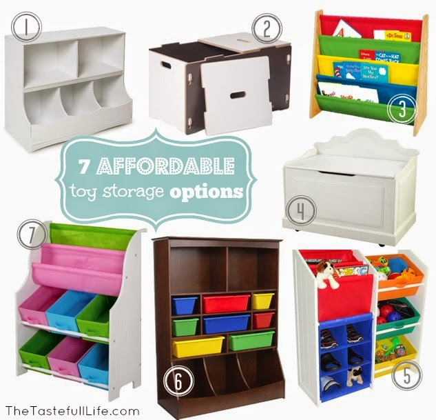 toy storage for small spaces