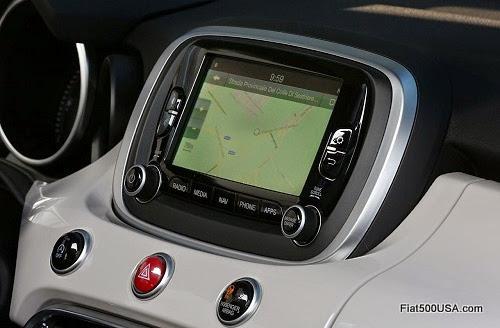 Fiat 500X Navigation Unit
