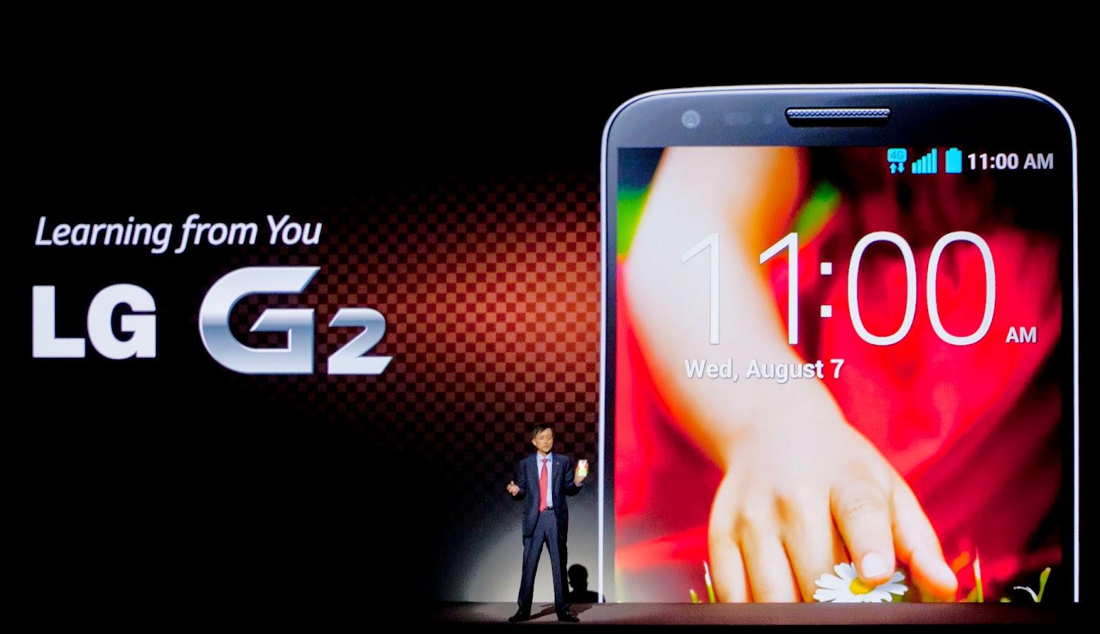 LG G2 y su cámara
