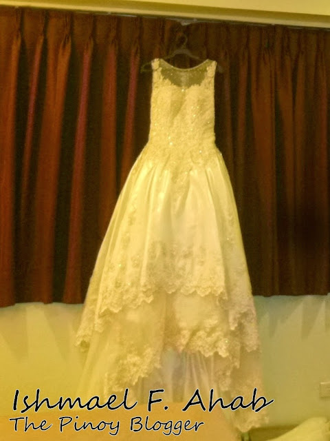 Wedding gown from Divisoria