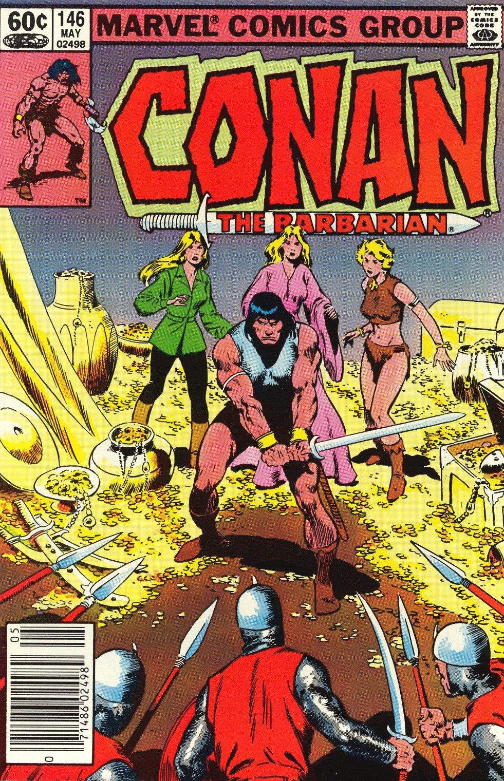 Conan the Barbarian (1970) Issue #146 #158 - English 3