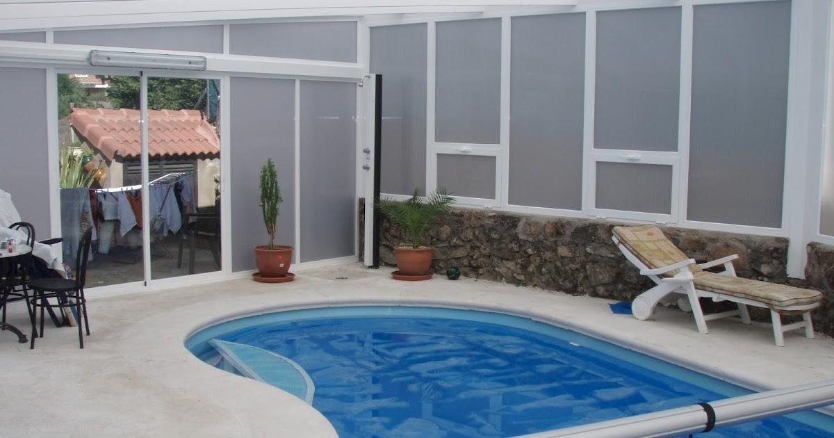 Piscinas cubiertas de policarbonato en madrid y resto de for Cubiertas para piscinas madrid
