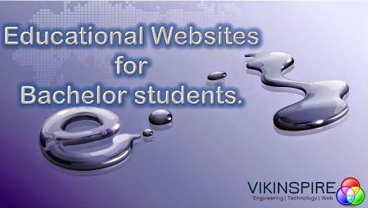 Bachelor students educational websites.