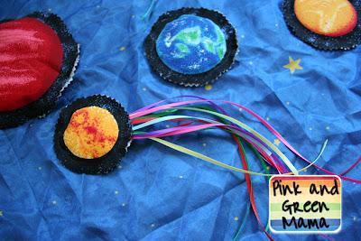 Solar System Bean Bags