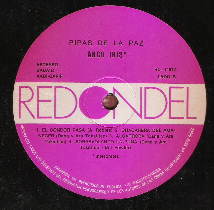 Arco Iris - Pipas de la paz (1988)