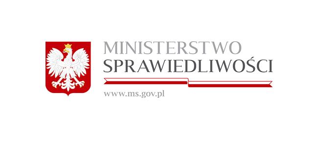 Znalezione obrazy dla zapytania ministerstwo sprawiedliwości logo
