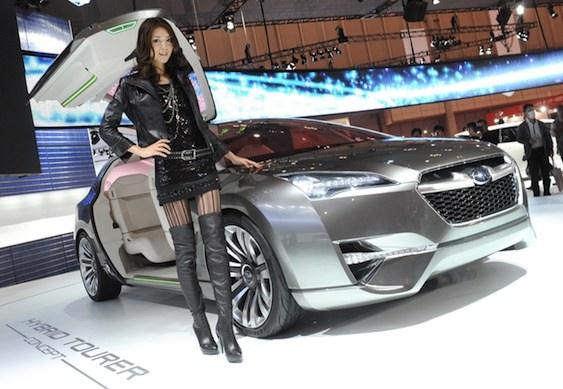 Subaru Tourer Concept Tokyo Motor Show 2011