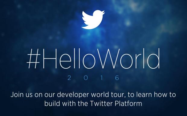 Twitter leva sua campanha Hello World para conquistar desenvolvedores