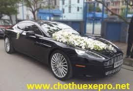 Cho thuê xe cưới Aston Martin Rapide tại Hà Nội