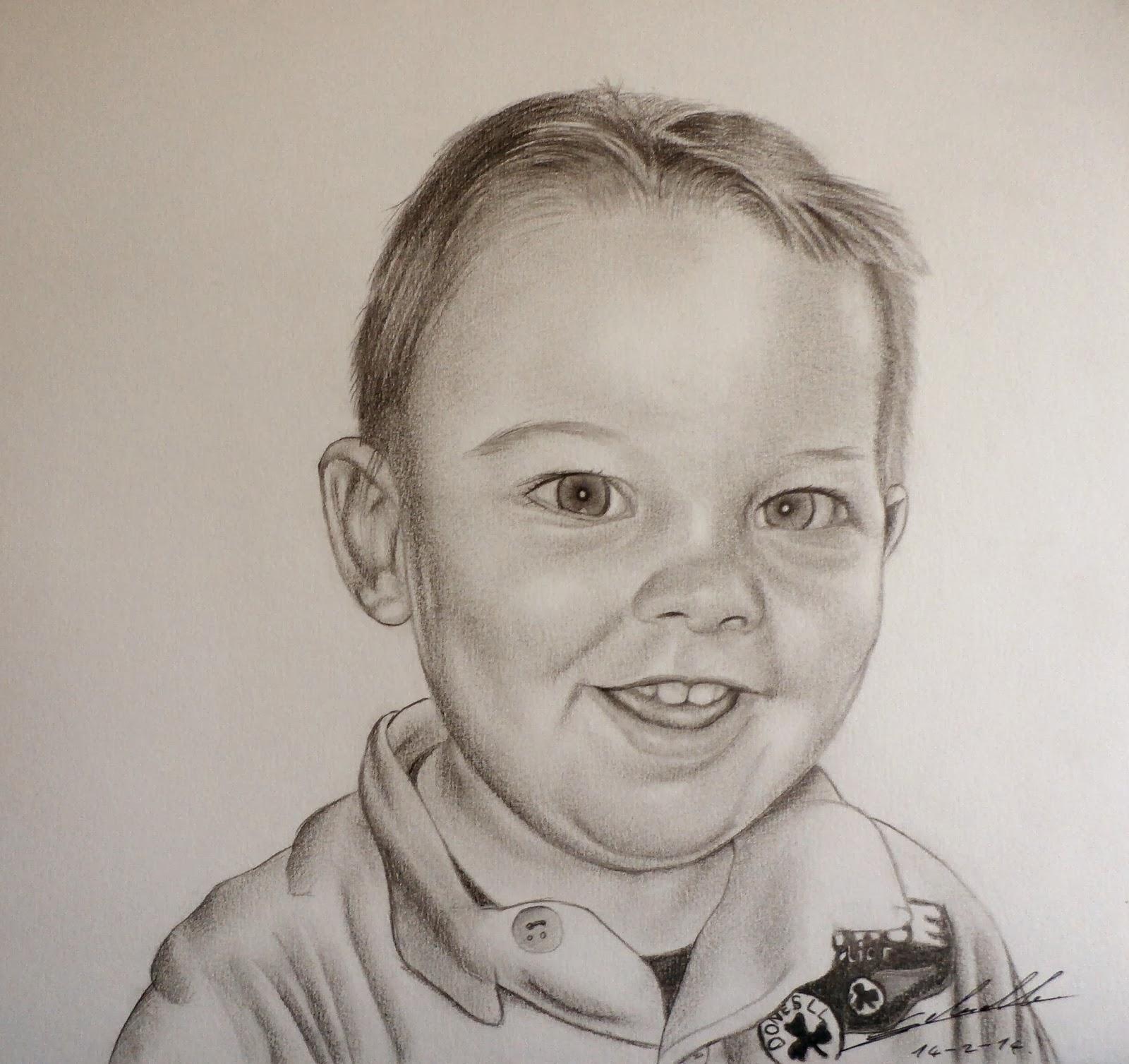 portrait d'enfant, Antoine Delesalle