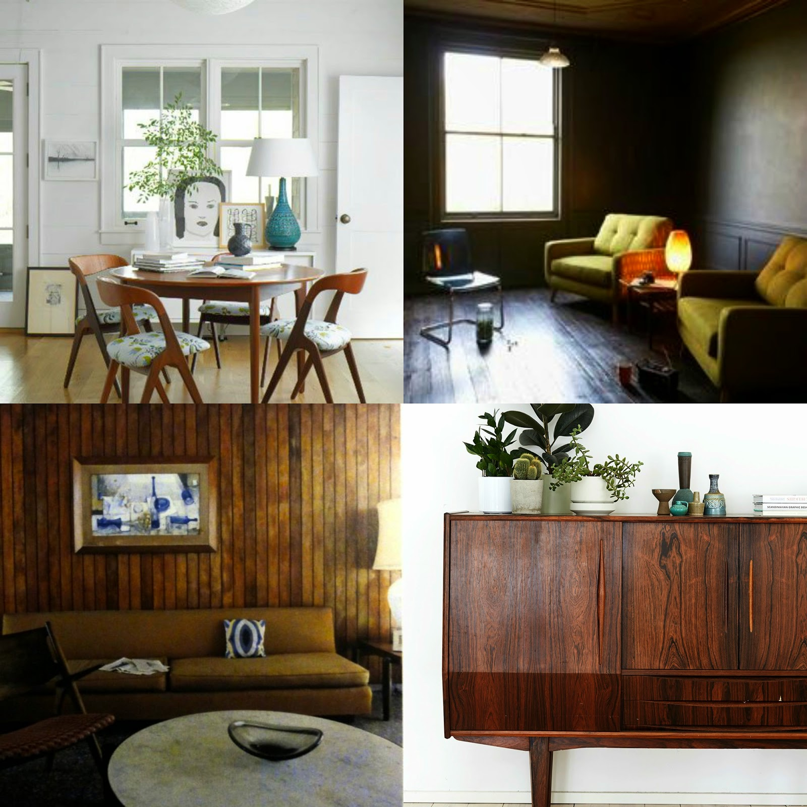 mid century modern inspired furniture. Friday Inspiration - Mid-Century Modern Style Mid Century Inspired Furniture