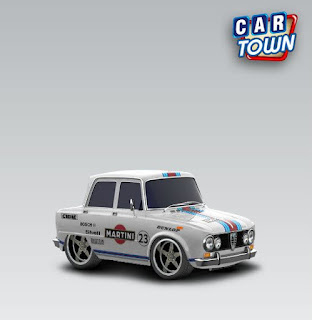 Alfa Romeo on Alfa Romeo Giulia Super 1965   Martini   Cartown Templates And Skins