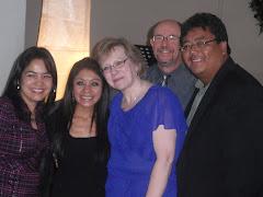 El Oasis Staff-Angelica, Jemina, Kerri, John, Juan Pablo