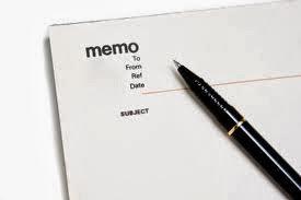 cara membuat memo contoh memo bahasa inggris