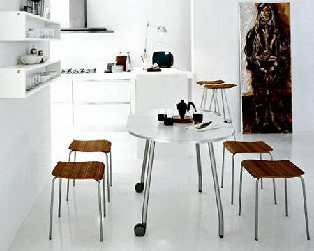 Decoraci n minimalista y contempor nea decoraci n en for Comedores minimalistas para espacios pequenos