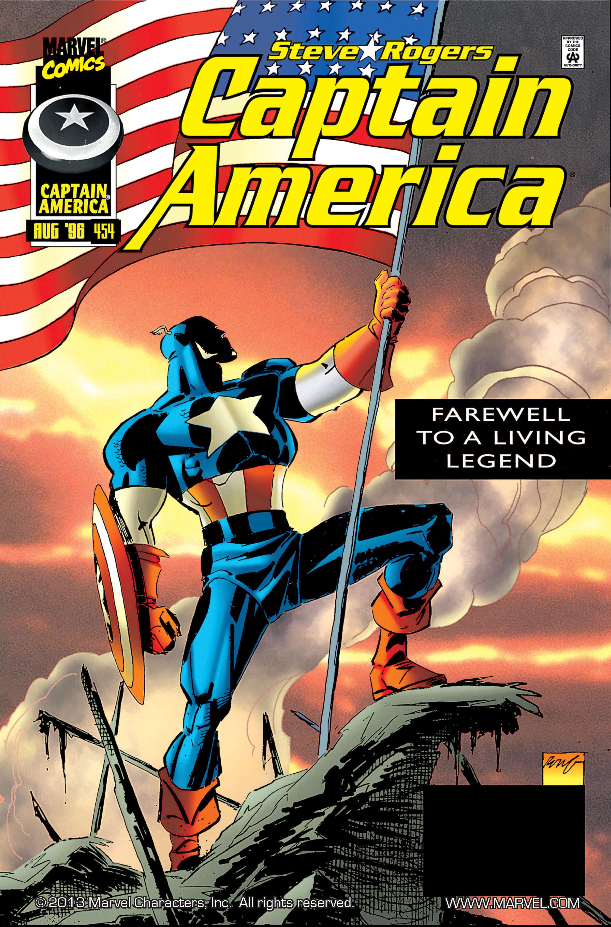 Captain America (1968) Issue #454 #411 - English 1