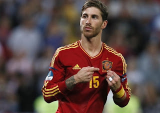SERGIO RAMOS NEW HAIRSTYLES