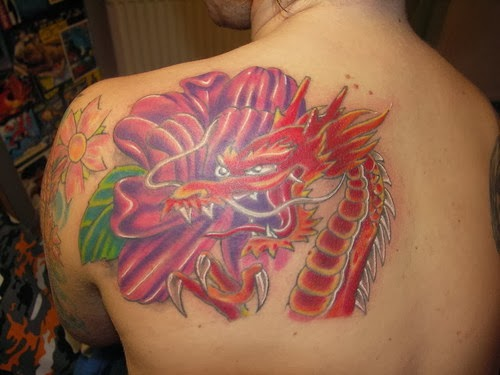 dragon tattoo,girls tattoo , sexy tattoo,tattoo desing