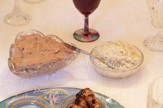 Charosis/Charoset and Horseradish