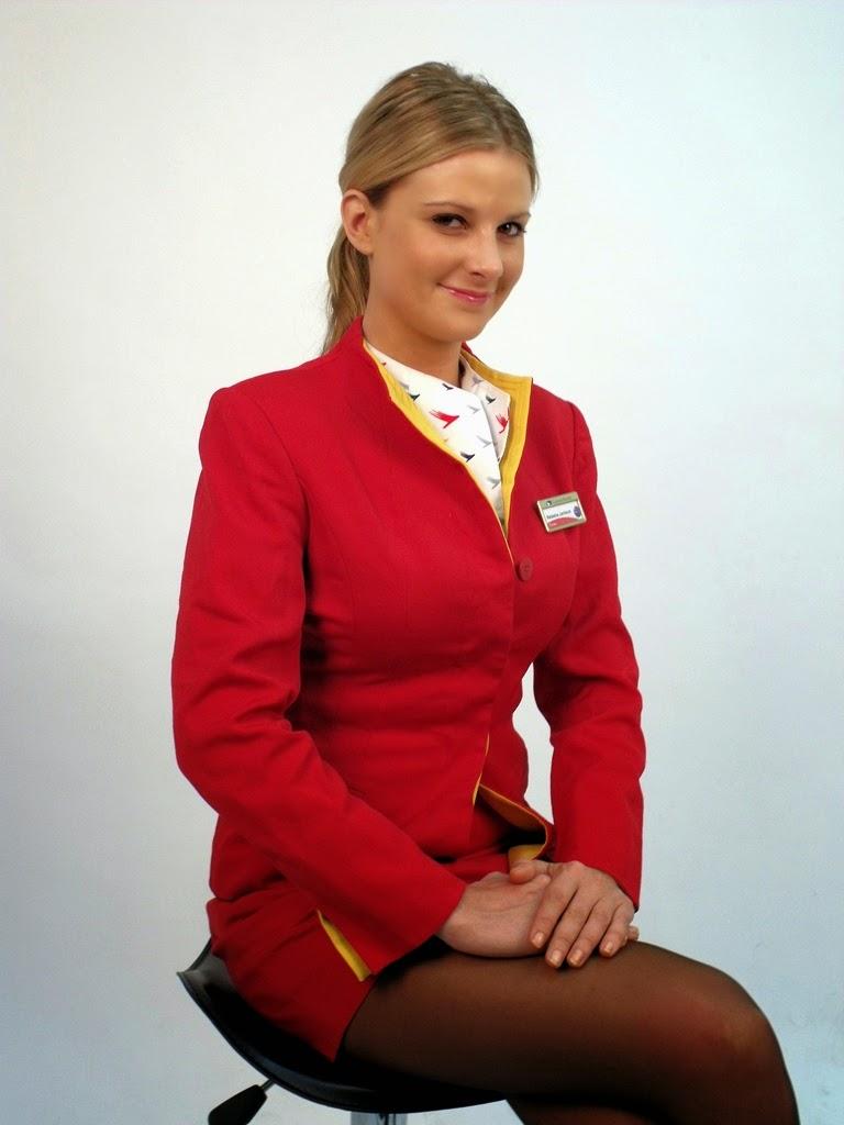 Cathay Pacific Beautiful Stewardess At Studio World