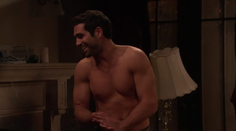 Jordi Vilasuso Shirtless on All My Children 20110428