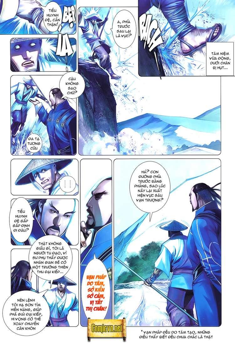 Phong Vân chap 621 Trang 4 - Mangak.info