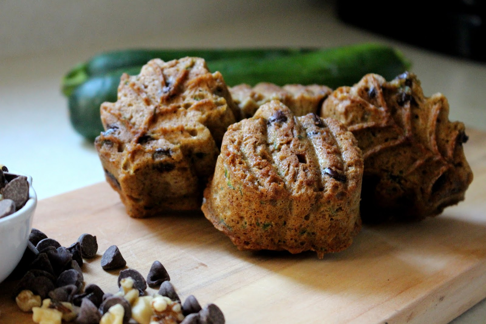 chocolate chip, walnut zucchini bread thumbnail