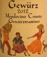 label for Alexander Valley Vineyards Gewurz wine