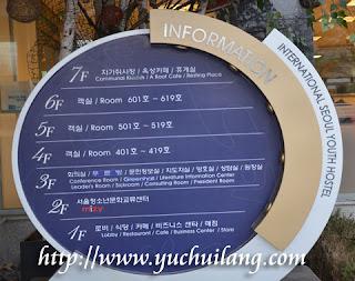 Informasi Asrama Belia Seoul