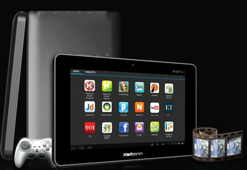Karbonn launches Smart Tab 1 tablet