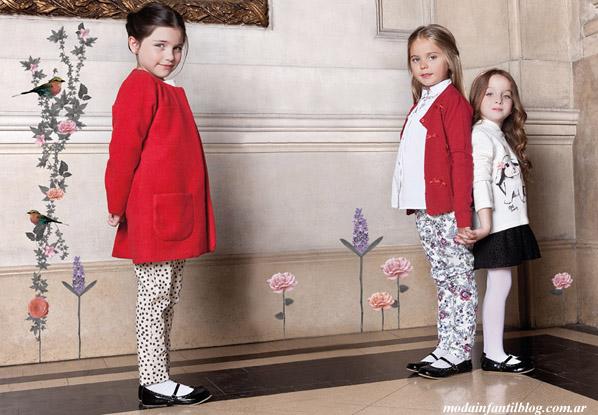 ropa para niñas otoño invierno 2014