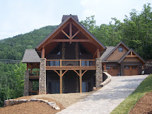 North Carolina Mountain Timber Frame Home