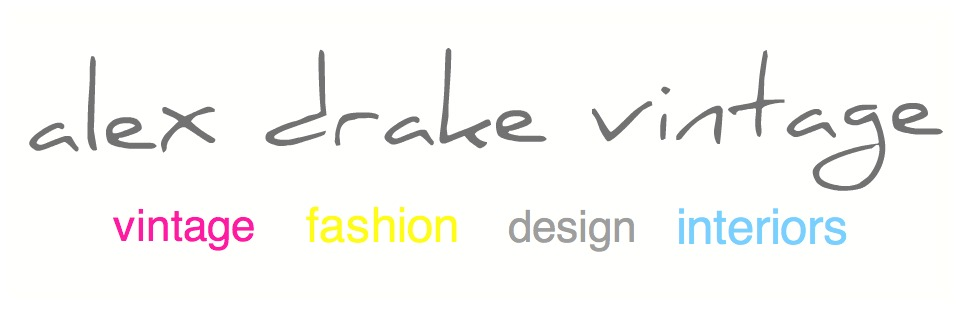 alex drake vintage | purveyor of quality vintage goods