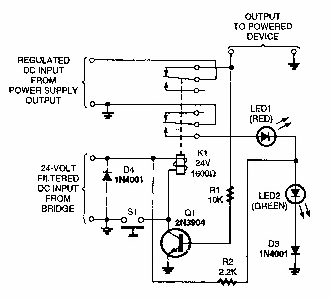 Short Circuit Protection Circuit Diagram